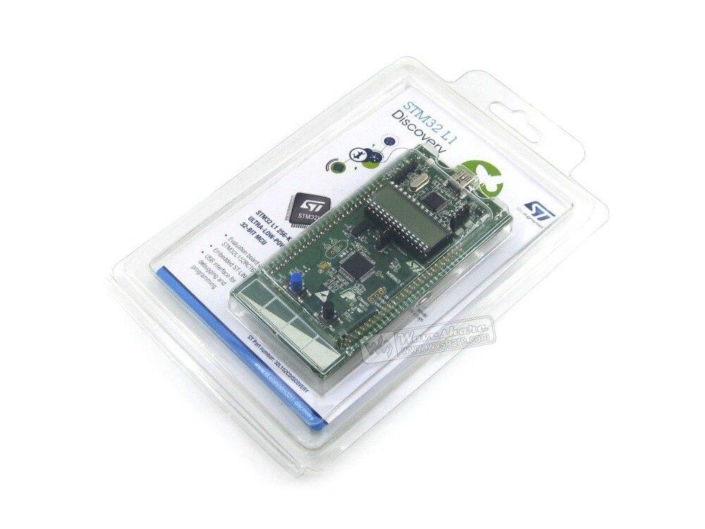 100% Original STM32 Placa de desarrollo STm32 L1 STM32 Kit de descubrimiento de STM32L152C-DISCO Base en STM32L152RBT6 envío gratis