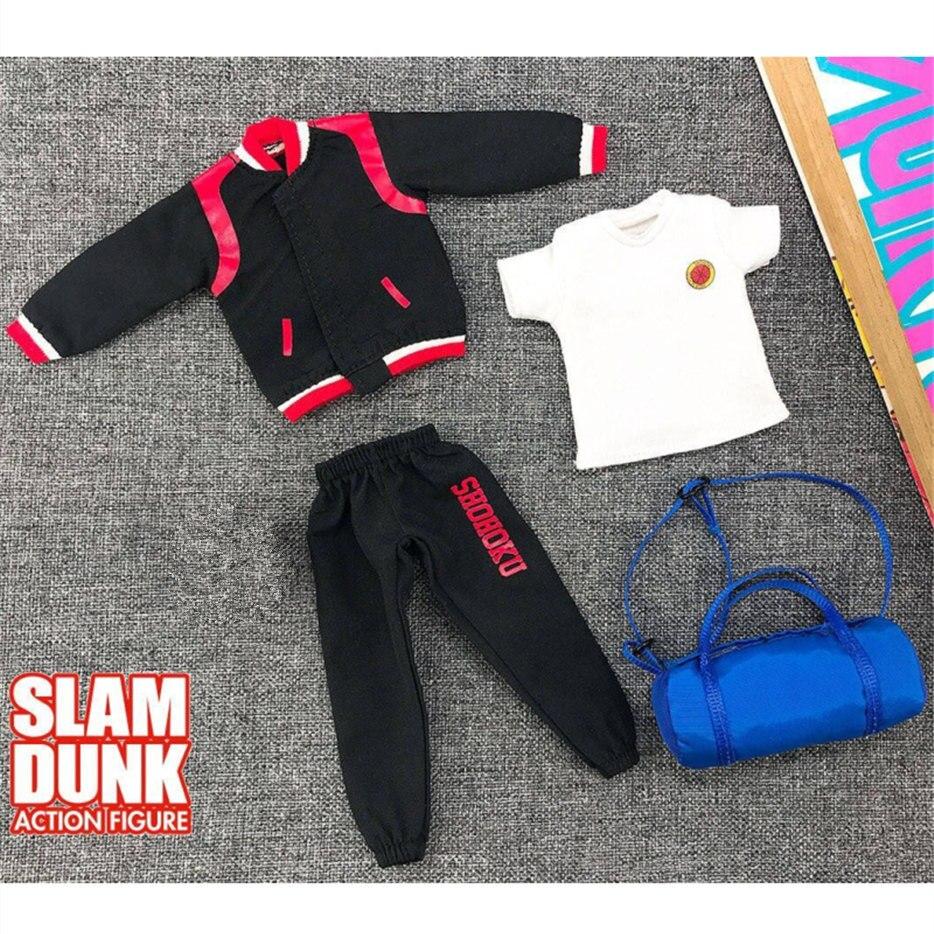 Dasin gt modelo roupas de inverno adequado para slam dunk shohoku anime figura ação nd026 *