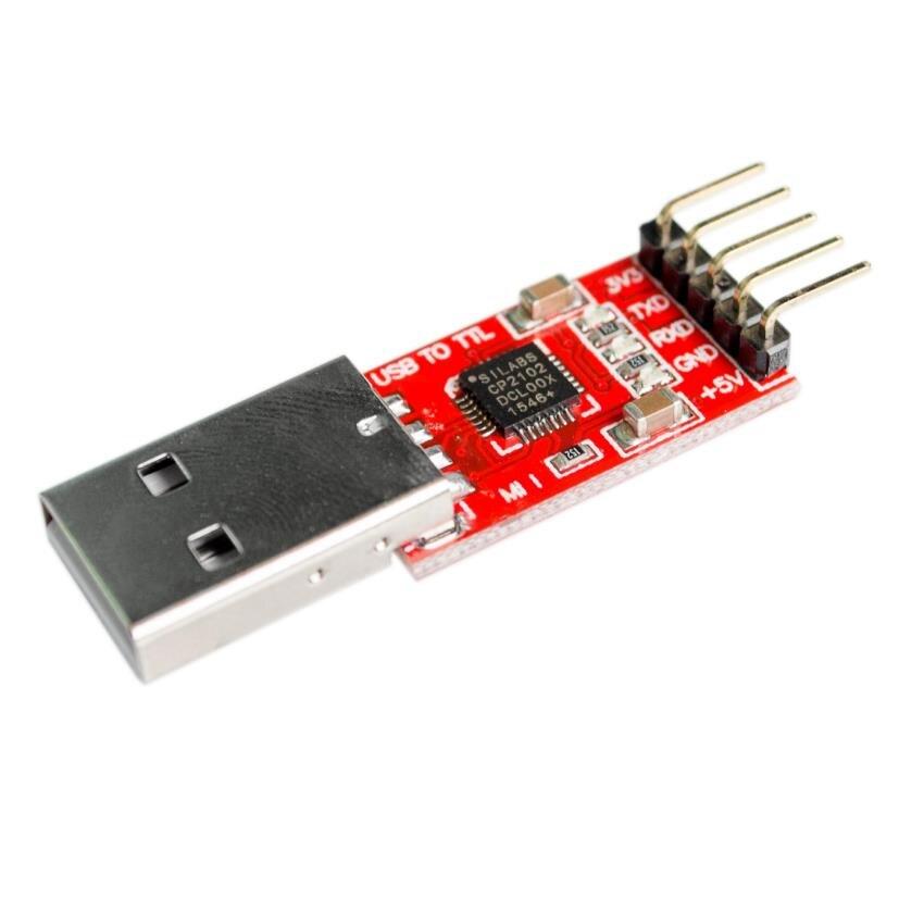 5 unids/lote CP2102 Módulo de USB a UART serie TTL que STC...