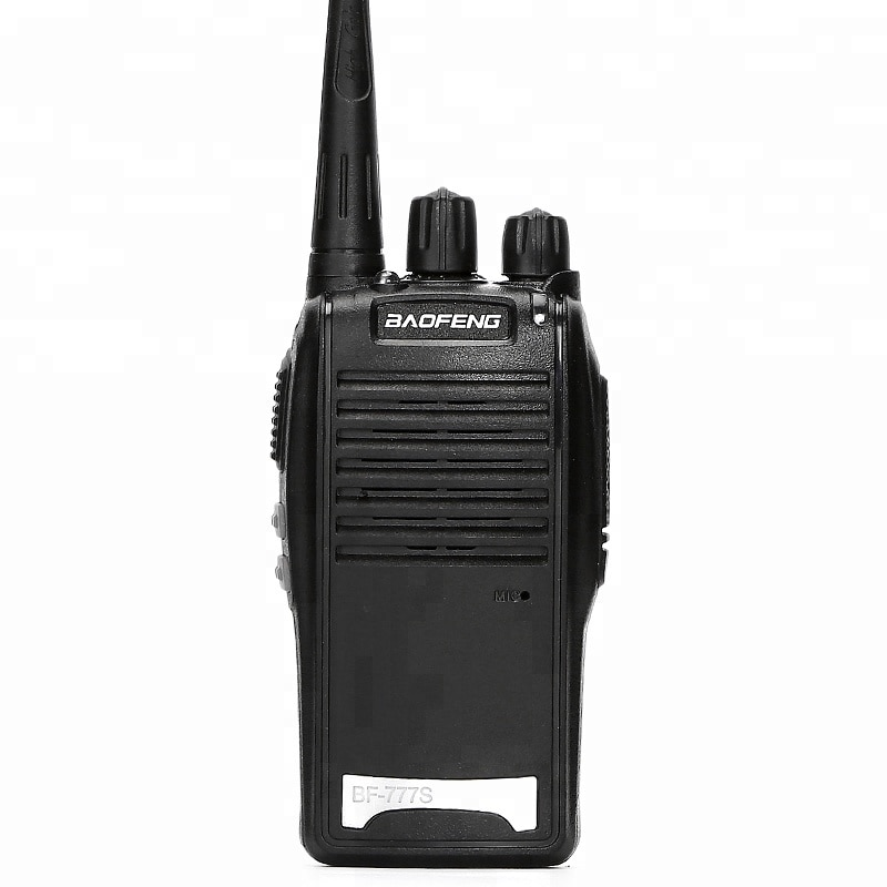 100% Original Baofeng BF-777S Two Way Radio Handheld Transceiver 777S Walkie Talkie