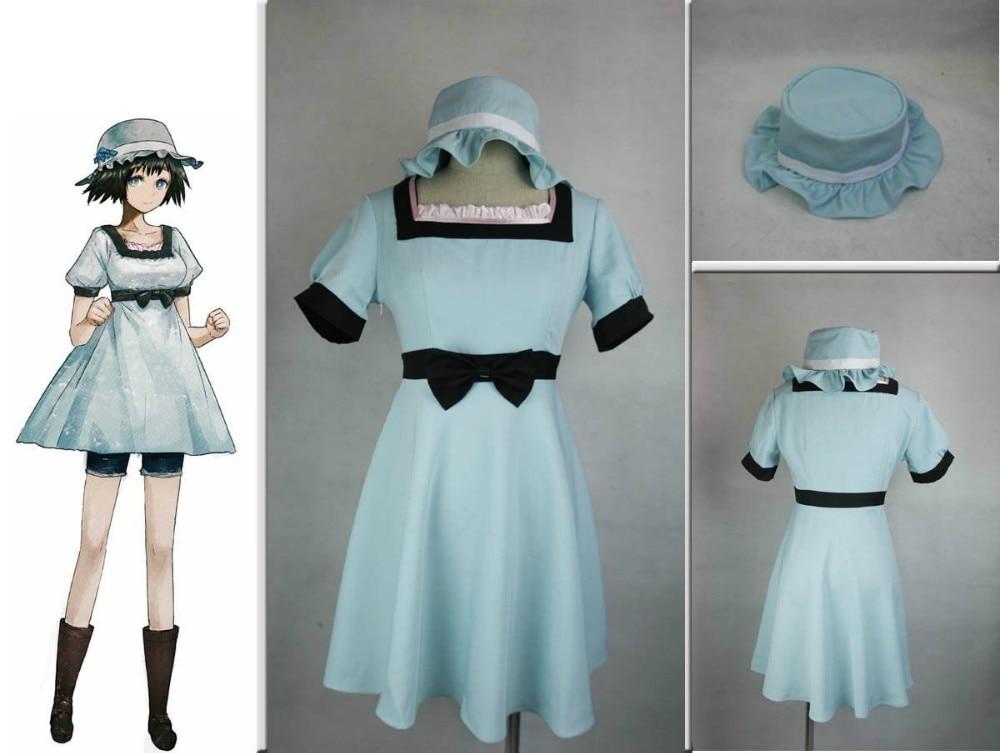 Steins Gate Mayuri Shiina cosplay costume Custom made Halloween customized any size