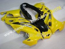 GSXF750/600F kit de caronnage de carrosserie moto   Pour Katana GSX750f GSX600f 2005 jaune noir 2006