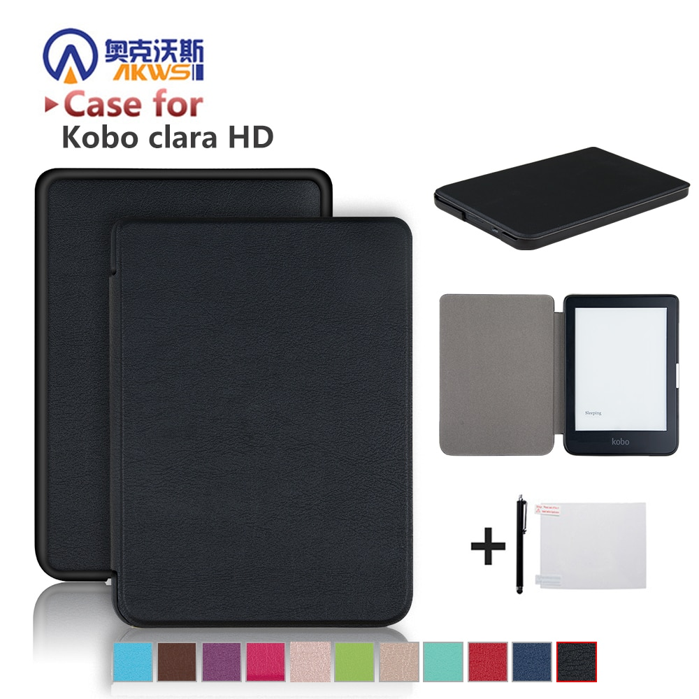 Slim מקרה לקובו קלרה HD 6 אינץ Ebook חכם כיסוי Ereader עור מעטפת עבור קובו קלרה HD EREADER
