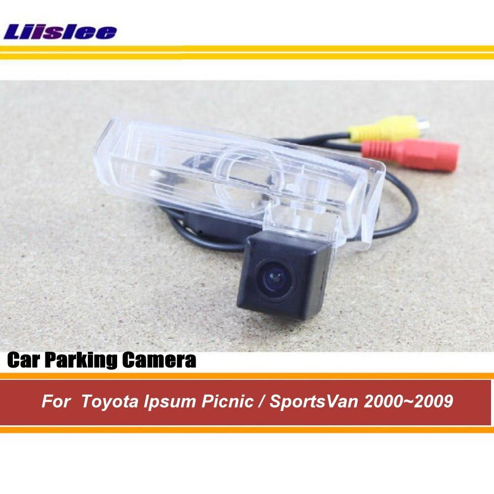 Liislee For Toyota Ipsum Picnic / SportsVan 2000~2009 HD CCD Night Vision / Car Rear Camera / Reversing Park Camera