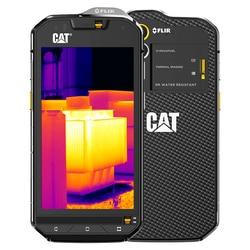 Original s60 flir câmera térmica infravermelha 13.0mp octa núcleo android 6.0 ip68 áspero telefone à prova dlágua 4g lte gps 3 gb ram gato
