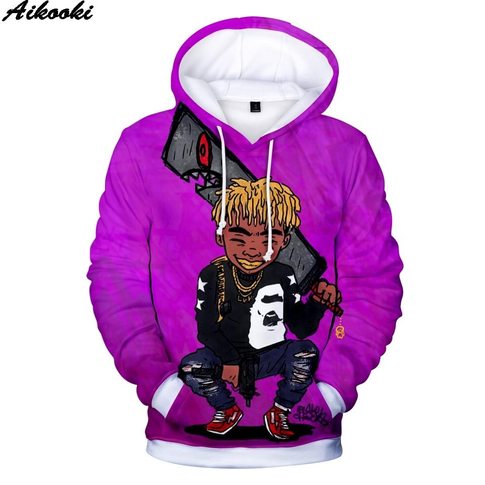 Hot Sale Rapper LIL UZI VERT 3D Hoodies Men/women Sweatshirts Hip Hop Comfortable Fashion Clothes 3D Lil Uzi Vert Vs. de Wereld