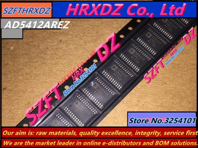 SZFTHRXDZ 100% nuevo original AD5412AREZ AD5412 AD5412ARE TSSOP24