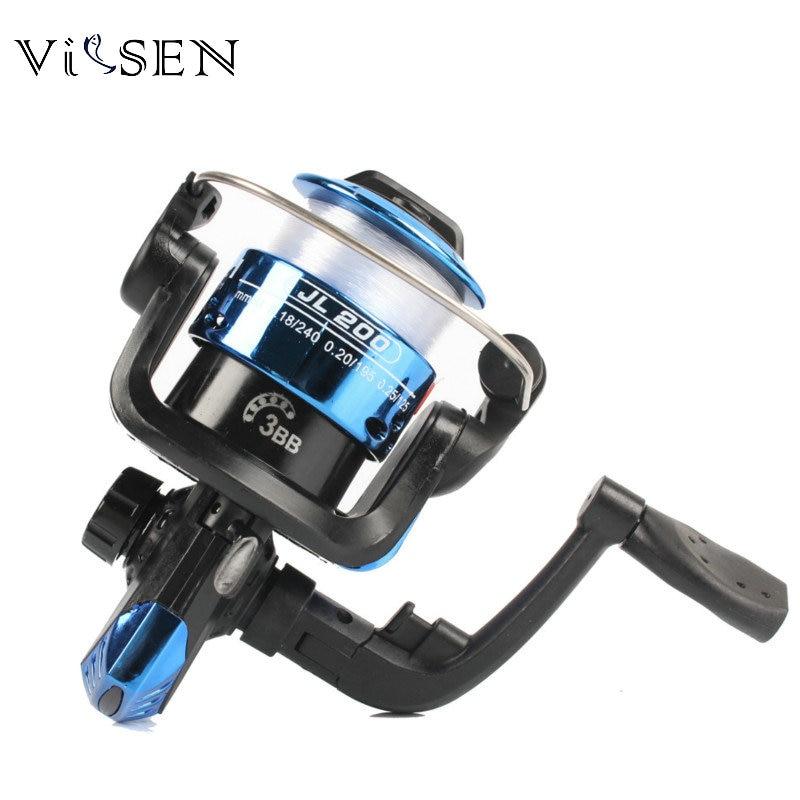 Vissen Molinete Spinning Fishing Reel Carretel Molinete Para Pesca  High Speed G-Ratio 5.2:1 Fishing Reel Lure Reel