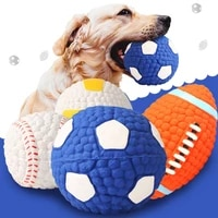dog baseball tennis ball giant pet toys for dog chewing toy signature mega jumbo kids toy ball for dog training supplies toys