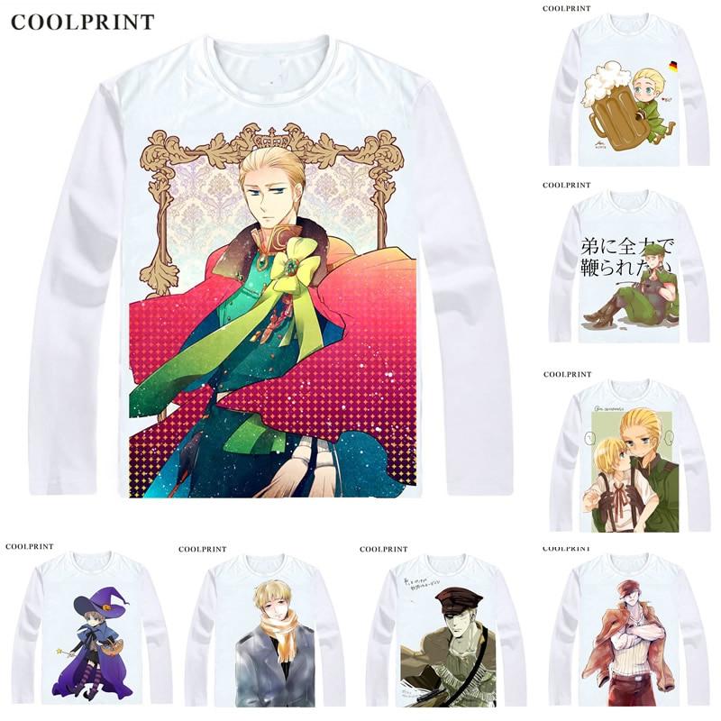 Coolprint-Camiseta Germanic Ludwig G8 para hombre, camiseta informal Vintage, camisetas de manga...