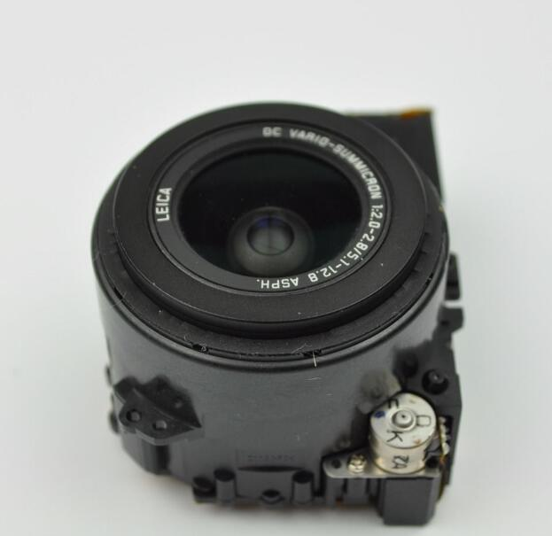 Unidad de lente de cámara original para Panasonic Lumix para DMC-LX3 LX3 montaje de Zoom de lente con Sensor CCD pieza de reparación
