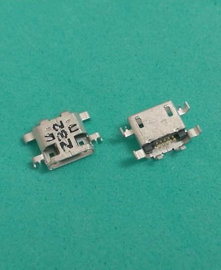 100 pçs/lote new Micro USB de Carregamento carregador doca Porto Conector para LENOVO A8-50 A5500 A5500H