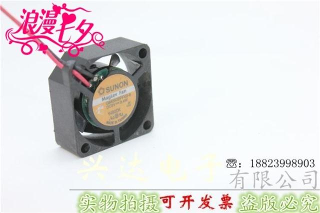 2510 5 V 0.6 W GM0502PFV2-8 2 CM fã mini ventilador equipamento de dissipação de calor