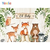 woodland birthday safari party animals photography backdrops baby child personalized photographic backgrounds for photo studio