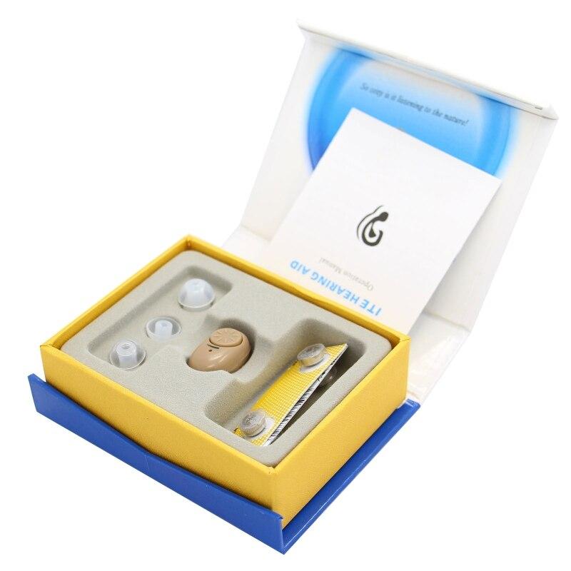 Audífono de oído AXON K-83 amplificador de sonido tapones suaves para los oídos cuidado de la salud Personal nuevo