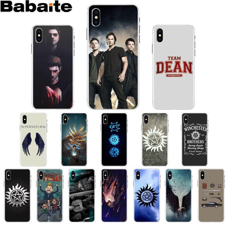 Babaite Supernatural Jared Padalecki Новинка Fundas чехол для телефона Apple iPhone 8 7 6 6S Plus X XS MAX 5 5S SE XR чехлы