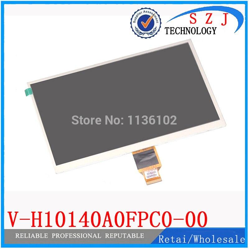 New 10.1 polegadas V-H10140A0FPC0-00 TFT screen Display LCD 232*142 MILÍMETROS 1024*600 para ALLWINNER A10 A13 pc tablet SL101DH21B01BL