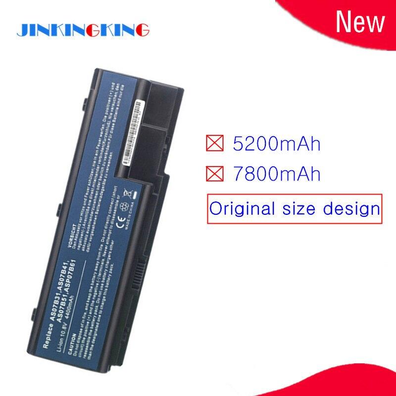 10.8V batterie dordinateur portable AS07B51 AS07B52 Pour Acer Aspire 6920G 6920 6930G 6930 6935G 7220 7720Z 7520G 7520 7720 7720G