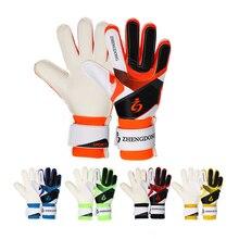 2018 3 taille enfants et adultes qualité latex gants de gardien de but sport football entraînement épais porter adolescent haute qualité 5 couleur