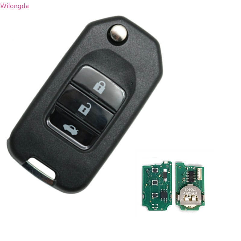 Автомобильный Универсальный ключ Wilongda B10 с 3 кнопками, дистанционный ключ для Kd300 Kd900 Urg200