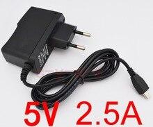 1 Uds. Adaptador de alimentación de alta calidad 5V 2.5A Cargador Micro USB para Tablet PC Teclast P85 X98 Air 3G P88 Dual Core V975m V973