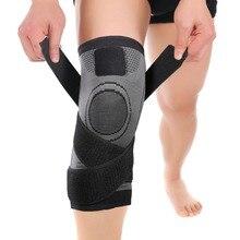 Mumian 3d Druck Fitness Laufen Radfahren Bandage Knie Unterstützung Hosenträger Elastischen Nylon Sport Compression Pad Hülse Grün Grau