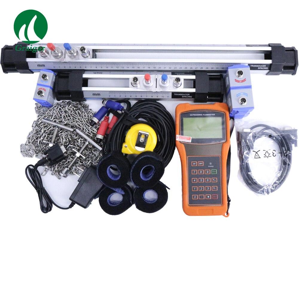 Combined Equipment Hand-Held Portable Ultrasonic Flow meter TUF-2000H Digital Flow Meter DN50-6000mm with HM and HS Bracket