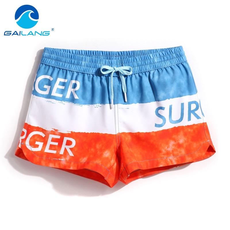 Gailang Marke Frauen Boxer Badehose Shorts Casual Aktive Bermudas Workout Frau Strand Board Schnell Trocknend Bademode Badeanzüge