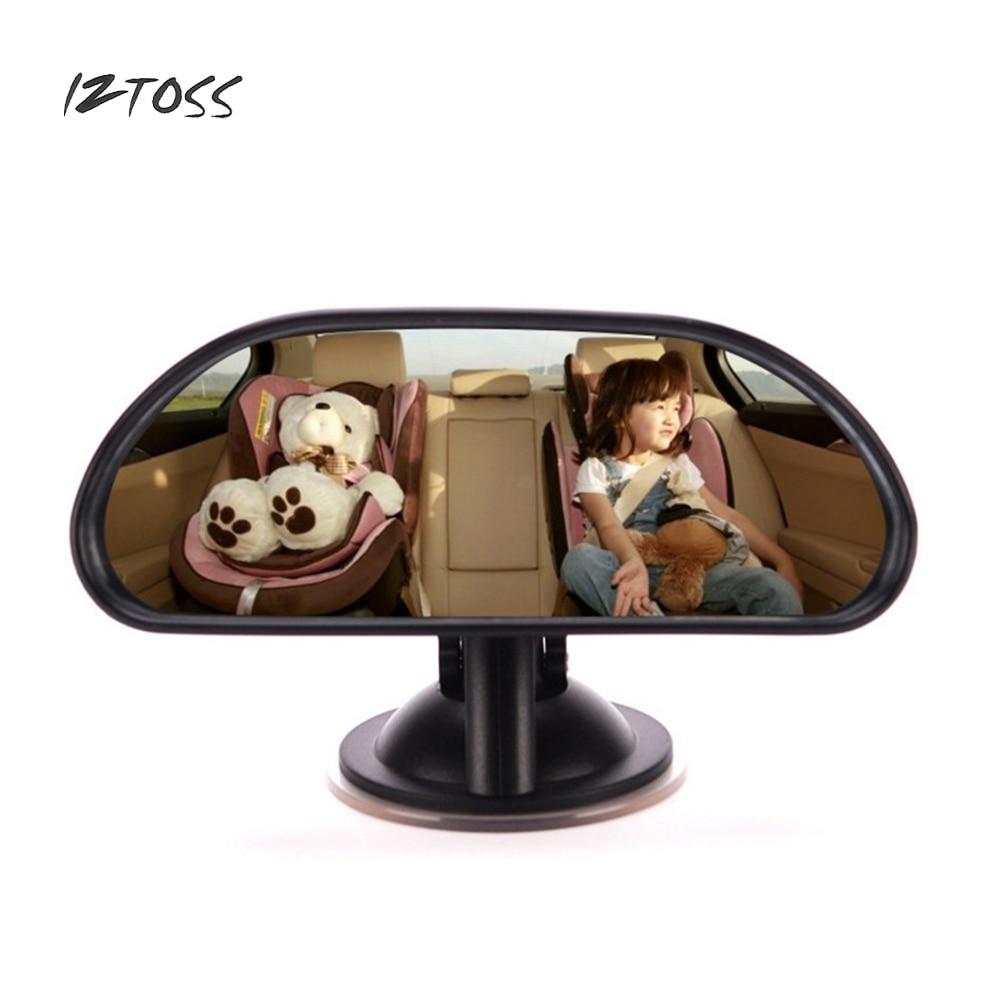 IZTOSS, asiento de seguridad para bebé, espejo retrovisor con ventosa con rotación de 360 grados, espejo retrovisor para bebé, estilo de coche, espejo Interior Universal Bl