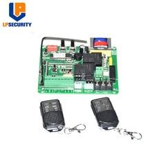 Panneau de commande universel 220V   Carte mère pour porte coulissante, ouvre-porte de type de cryptage, 10 télécommandes/keyfobs