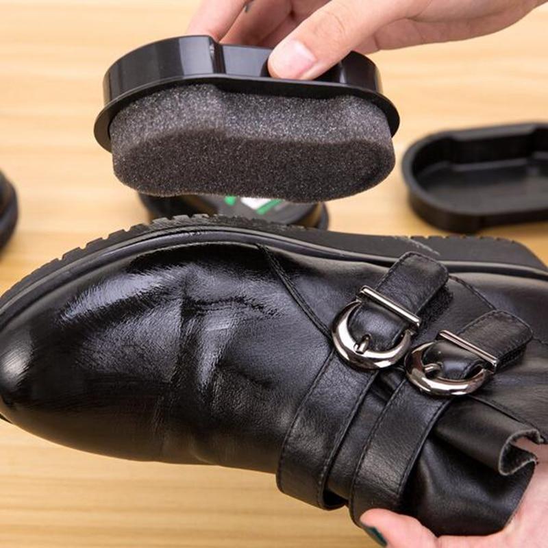 Black Shoe Brush Cleaning Men's Women's Leather Shoe Polish Sponge Laundry Wash Brush for Bathroom Household Cleaning Tools