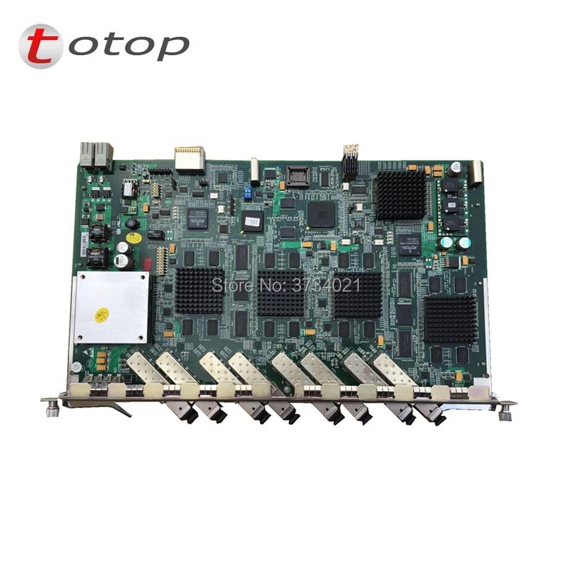 ZTE ETGO 8 ports EPON board for C300 OLT. ETGO board with 8 EPON modules PX20+