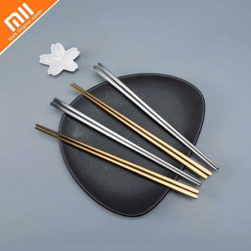 4 pairs of Xiaomi Mijia smart home Maision Maxx chopsticks 304 stainless steel chopsticks Chinese chopsticks cultural gifts
