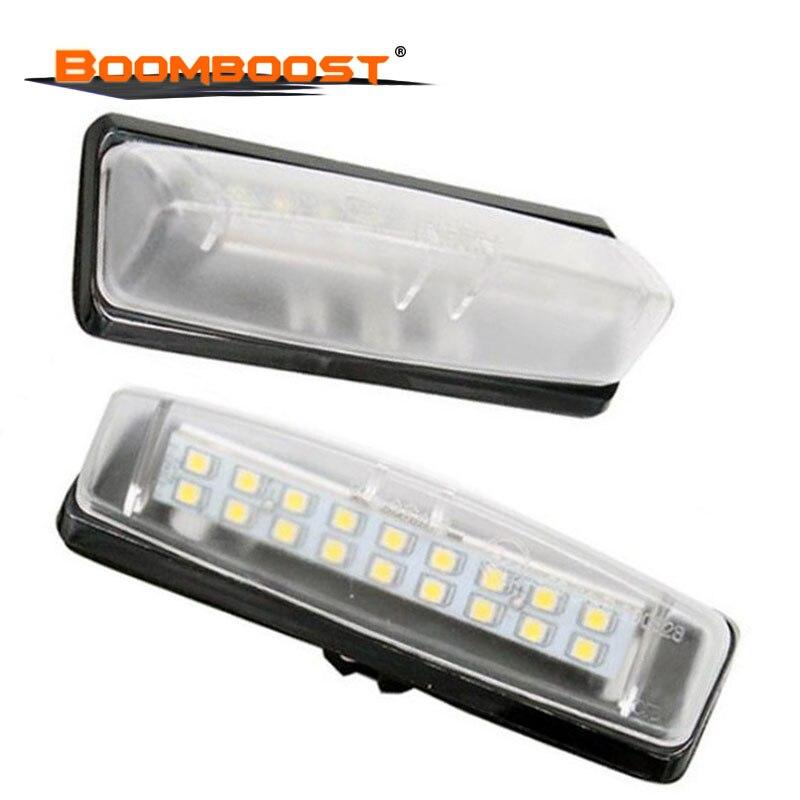 Para TOYOTA Camry Aurion 2006 ~ 2011 (ACV40/GSV40) luz LED de matrícula para LEXUS Is200/Is300 1999 ~ 2005 (GXE10/JCE10)