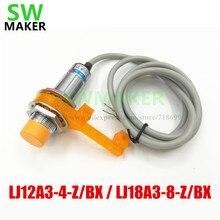 SWMAKER LJ12A3-4-Z/BX/LJ18A3-8-Z/BX Sensor Automático de Nivelamento/kit de suporte para Impressora 3D Anet A8 Prusa i3