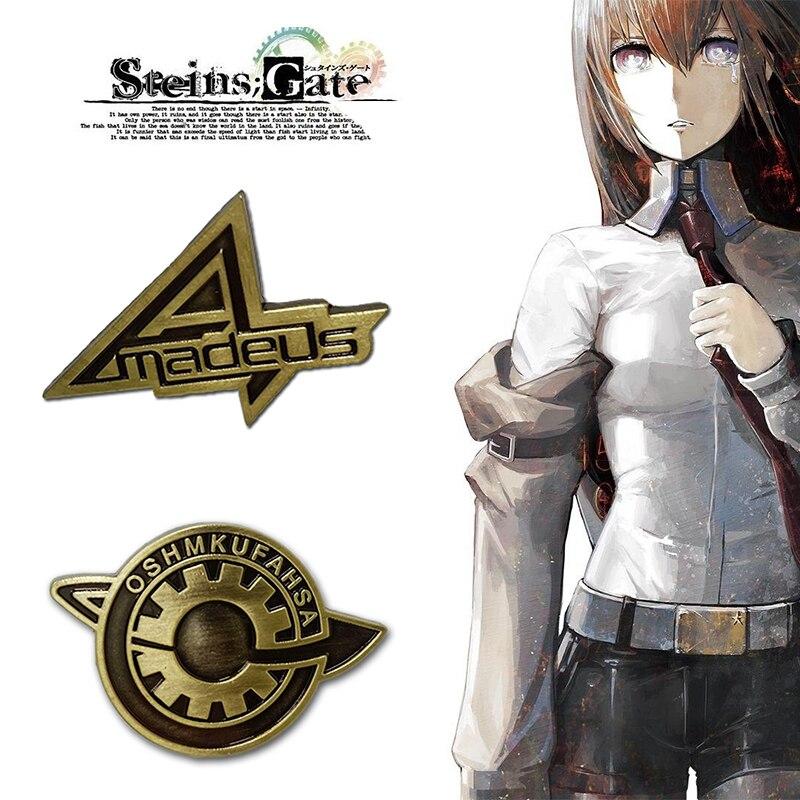 gioco-steins-cancello-cosplay-distintivo-spille-spilla-makise-kurisu-labmen-il-destino-della-porta-di-pietra-puntelli-accessori-anime