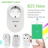 ORVIBO     prise intelligente Wifi B25  prise dalimentation electrique avec application de controle des appareils menagers  livraison gratuite