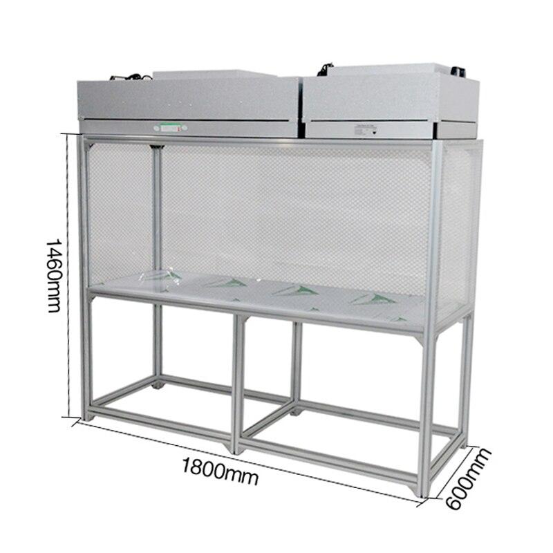 Big Size Dis-mountable Cleaning Room Dust-free Working Room Bench Table Refurbish LCD For Broken Phone Repair Refurbishing