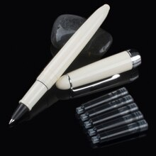 Nouveauté Jinhao 992 Kawaii Lucency/bleu/blanc/rouge 6 couleurs stylo papeterie bureau de luxe papeterie écriture stylos Bea