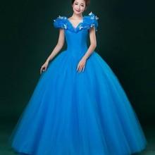 New Women Adult Custom Made Cinderella Quinceanera Dresses Communion Prom Bridal Princess Cinderella Party Dress