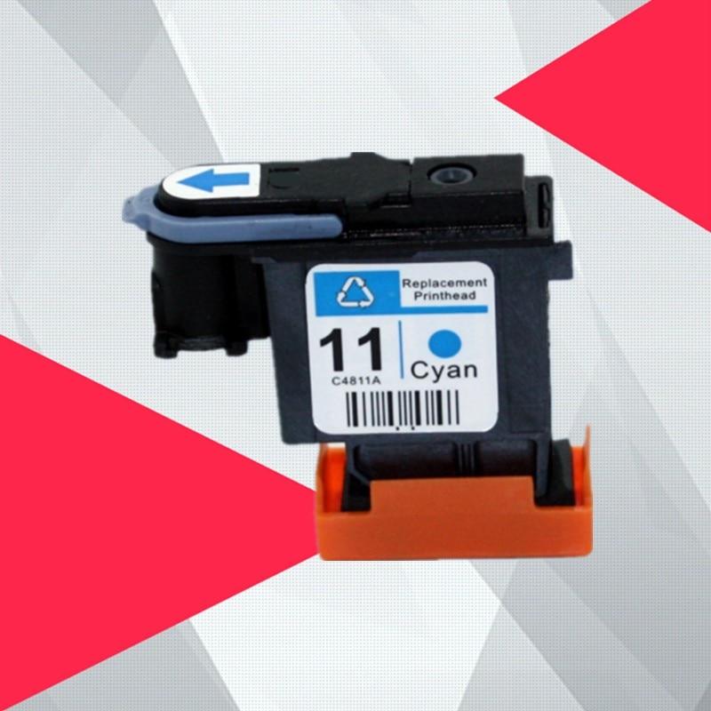 Cabeza de impresión cian compatible para hp 11 reemplazo para hp 11 cabezal de impresión Designjet 70 100, 110, 500, 510 C4810A C4811A C4812A C4813A