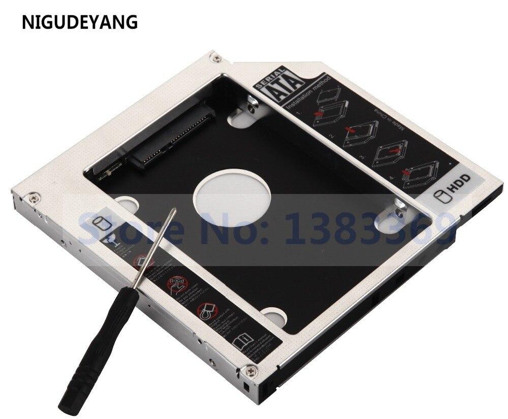 NIGUDEYANG-disco duro HDD SSD, adaptador Caddy para Acer Aspire 5750 5735 5335,...