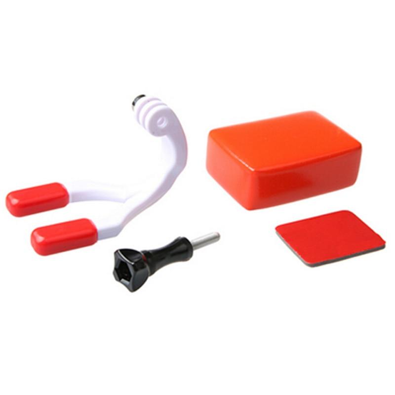 Для Go pro Аксессуары Набор для крепления на рот для серфинга подтяжки коннектор для серфинга для Gopro Hero 6 5 4 3 + для SJ4000