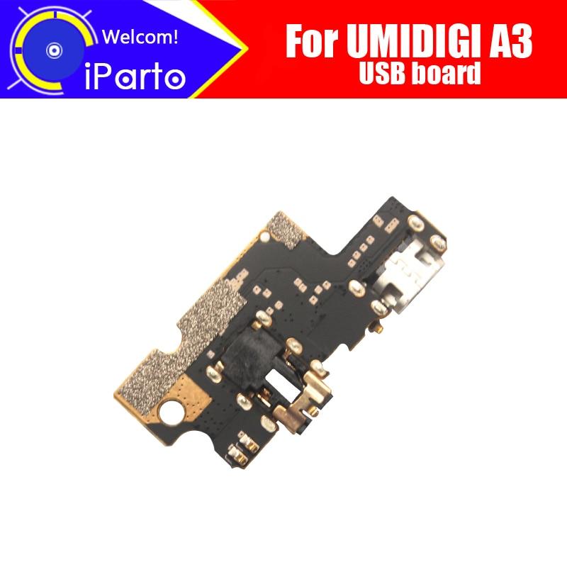 Placa usb UMIDIGI A3 de 5,5 pulgadas 100% nuevo y Original para accesorios de reemplazo de placa de carga de enchufe usb para teléfono UMIDIGI A3.