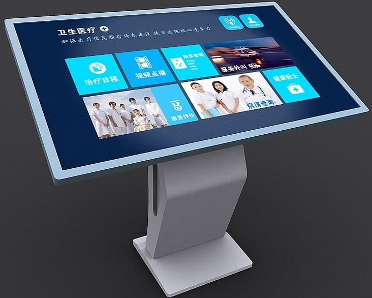 42 46 47 pulgadas Monitor LCD TFT monitores táctiles pantalla interactiva pluma gran Deasktop Monitor Digital Tablet Monitor negro