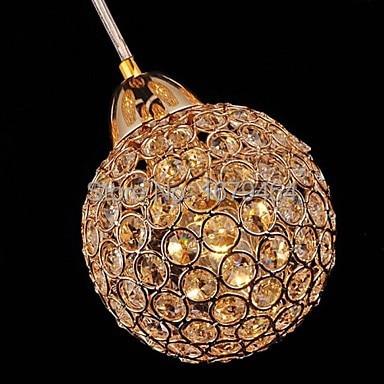 K9 Crystal GoldenChandeliers with 8 Light Use for Living Room 110v 220v 240v  - buy with discount