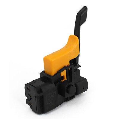AC 250V 4 (3) A interruptor giratorio de cambio de dirección negro amarillo para Bosch 24