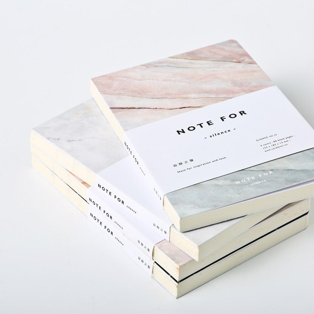 1 Bloc de notas de voz silenciosa de 80 páginas para material de papelería escolar y suministros de oficina
