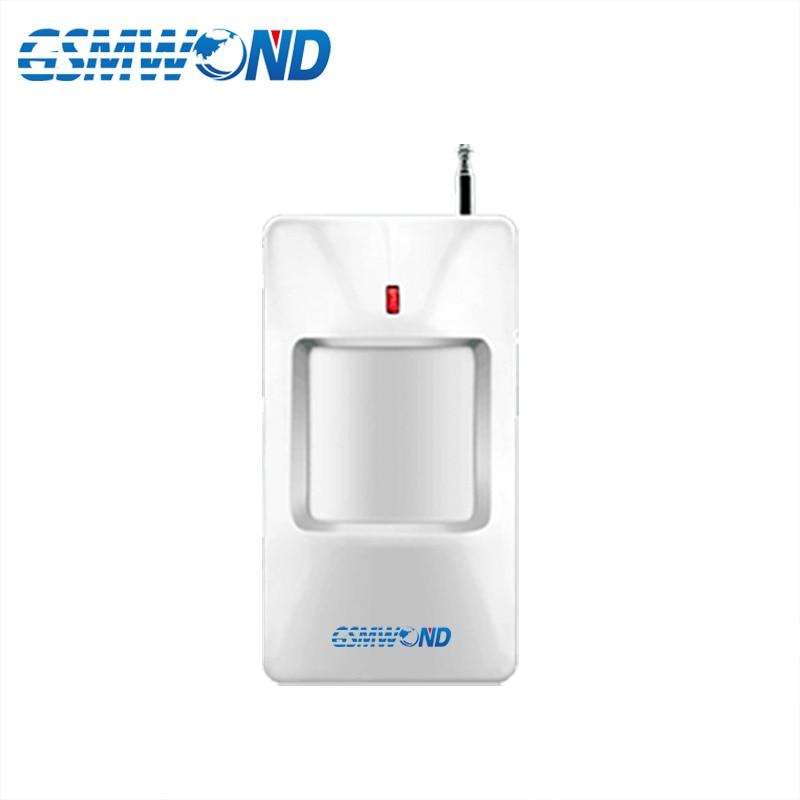 433MHz Wireless Infrared Detector PIR Motion Detector For Home Burglar GSM Alarm System Wireless  Sensor Alarm