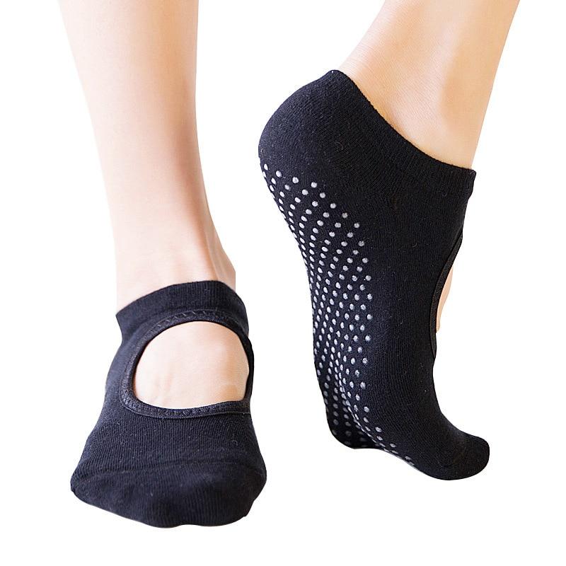 Women Professional Anti Five Fingers Slip Bandage Sports Yoga Socks Ladies Ventilation Sports Pilates Ballet Socks Dance Sock